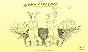 Non-violence à Sivens par Seb T